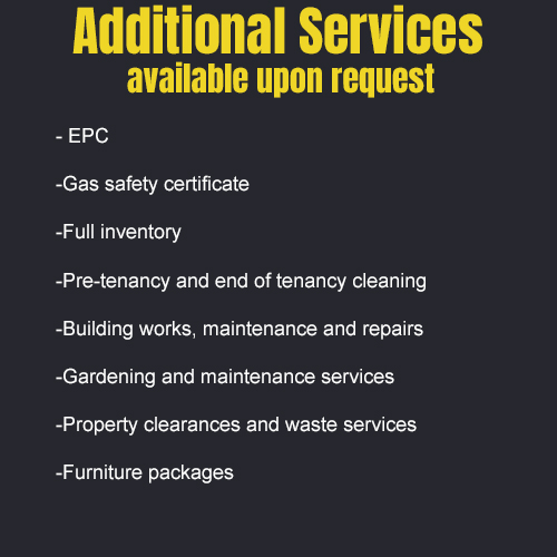 addtional services